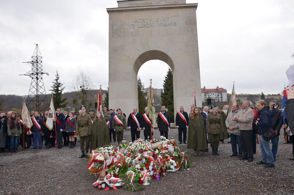 Strzelcy Józefa Piłsudskiego we Lwowie 11 listopada 2016